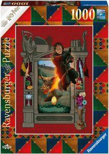 Puzzle de Harry Potter y el Cáliz de Fuego de 1000 piezas de Ravensburger - Los mejores puzzles de Harry Potter