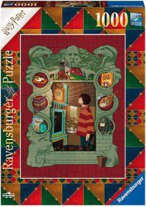 Puzzle de Harry Potter y la Cámara Secreta de 1000 piezas de Ravensburger - Los mejores puzzles de Harry Potter