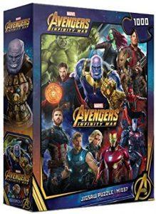 Puzzle de Infinity War de 1000 piezas - Los mejores puzzles de Marvel