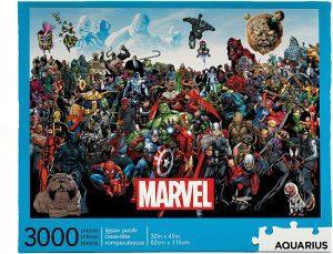 Puzzle de Marvel Cast de 3000 piezas de Aquarius - Los mejores puzzles de Marvel