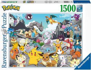 Puzzle de Pokemon de 1500 piezas de Ravensburger - Los mejores puzzles de Pokemon