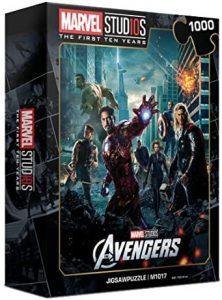 Puzzle de Vengadores de 1000 piezas - Los mejores puzzles de Marvel