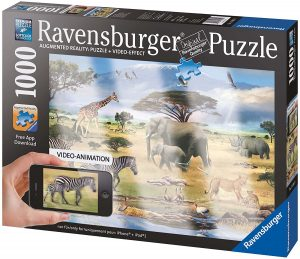Puzzle de animales video de 1000 piezas de Ravensburger - Los mejores puzzles de animales