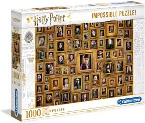 Puzzle de cuadros de Harry Potter de 1000 piezas de Clementoni - Los mejores puzzles de Harry Potter