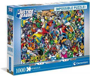 Puzzle de héroes de la Liga de la Justicia de 1000 piezas de Clementoni - Los mejores puzzles de DC