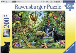 Puzzle de la Jungla de 200 piezas de Ravensburger - Los mejores puzzles de animales