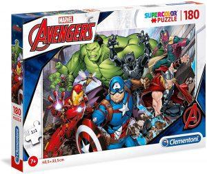 Puzzle de los Vengadores de Marvel de 180 piezas de Clementoni - Los mejores puzzles de Marvel