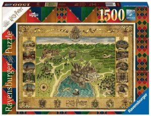 Puzzle de mapa de Harry Potter de 1500 piezas de Ravensburger - Los mejores puzzles de Harry Potter