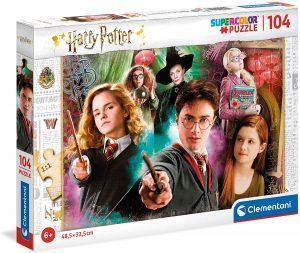 Puzzle de mujeres de Harry Potter de 104 piezas de Clementoni - Los mejores puzzles de Harry Potter