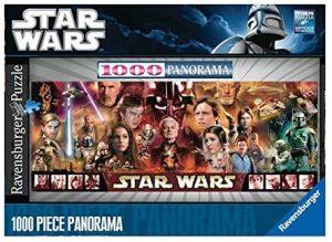 Puzzle de panorama de Star Wars de 1000 piezas de Ravensburger - Los mejores puzzles de Star Wars original
