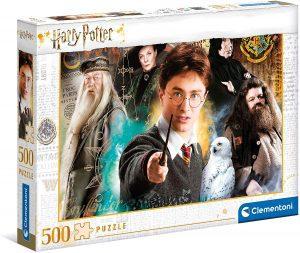 Puzzle de profesores de Harry Potter de 500 piezas de Clementoni - Los mejores puzzles de Harry Potter
