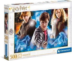 Puzzle de protagonistas de Harry Potter de 500 piezas de Clementoni - Los mejores puzzles de Harry Potter