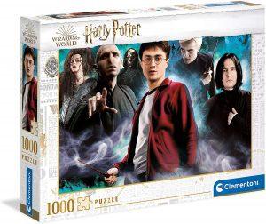 Puzzle de villanos de Harry Potter de 1000 piezas de Clementoni - Los mejores puzzles de Harry Potter