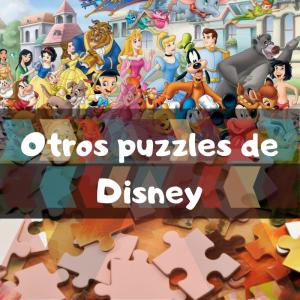 Puzzles de monumentos de Disney - Recopilación de puzzles de películas de Disney