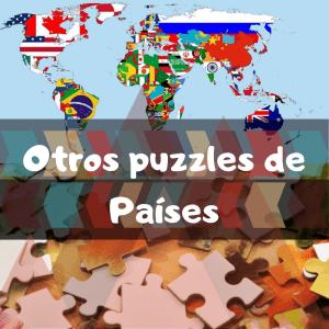 Puzzles de países del mundo - Recopilación de puzzles de Países del mundo
