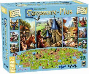 Carcassonne Plus - Juegos de mesa de Carcassonne - Los mejores juegos de mesa de estrategia de Carcassonne
