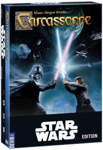 Carcassonne Star Wars - Juegos de mesa de Carcassonne de estrategia - Los mejores juegos de mesa de Carcassonne