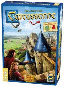 Carcassonne clásico - Juegos de mesa de Carcassonne - Los mejores juegos de mesa de estrategia de Carcassonne