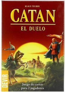 Catan El duelo - Juego de cartas - Juegos de mesa de Catan - Los mejores juegos de mesa de estrategia de Catan