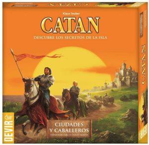 Catan Expansión Ciudades y Caballeros - Juegos de mesa de Catan - Los mejores juegos de mesa de estrategia de Catan