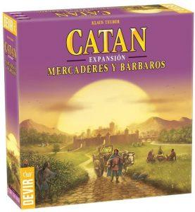 Catan Expansión Mercaderes y Bárbaros - Juegos de mesa de Catan - Los mejores juegos de mesa de estrategia de Catan
