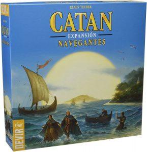 Catan Expansión Navegantes - Juegos de mesa de Catan - Los mejores juegos de mesa de estrategia de Catan