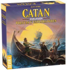 Catan Expansión Piratas y exploradores - Juegos de mesa de Catan - Los mejores juegos de mesa de estrategia de Catan