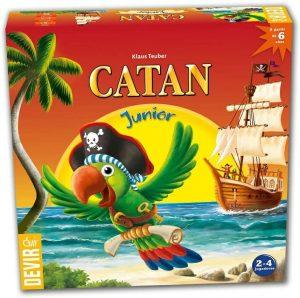 Catan Junior - Juegos de mesa de Catan - Los mejores juegos de mesa de estrategia de Catan