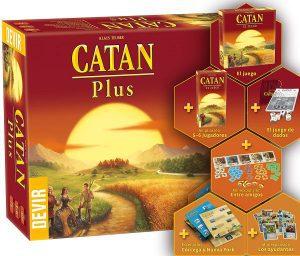 Catan Plus - Juegos de mesa de Catan - Los mejores juegos de mesa de estrategia de Catan