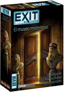 Exit El Museo Misterioso - Juegos de mesa de Exit - Los mejores juegos de mesa de cartas y escape room de Exit