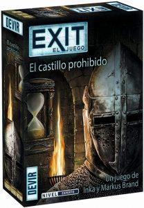 Exit El castillo prohibido - Juegos de mesa de Exit - Los mejores juegos de mesa de cartas y escape room de Exit