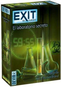 Exit El laboratorio secreto - Juegos de mesa de Exit - Los mejores juegos de mesa de cartas y escape room de Exit