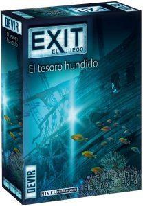 Exit El tesoro escondido - Juegos de mesa de Exit - Los mejores juegos de mesa de cartas y escape room de Exit