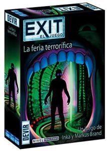 Exit La Feria terrorífica - Juegos de mesa de Exit - Los mejores juegos de mesa de cartas y escape room de Exit