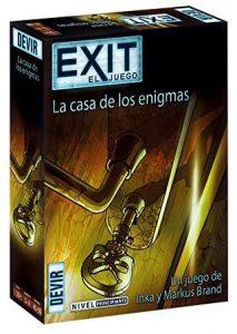 Exit La casa de los Enigmas - Juegos de mesa de Exit - Los mejores juegos de mesa de cartas y escape room de Exit