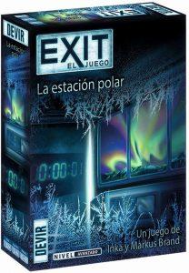 Exit La estación polar - Juegos de mesa de Exit - Los mejores juegos de mesa de cartas y escape room de Exit