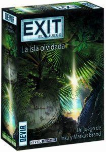 Exit La isla olvidada - Juegos de mesa de Exit - Los mejores juegos de mesa de cartas y escape room de Exit