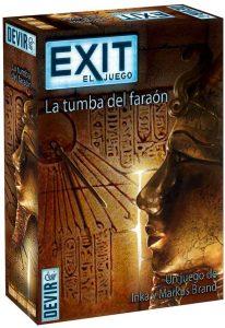 Exit La tumba del faraón - Juegos de mesa de Exit - Los mejores juegos de mesa de cartas y escape room de Exit
