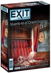 Exit Muerte en el Orient Express - Juegos de mesa de Exit - Los mejores juegos de mesa de cartas y escape room de Exit