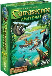 Expansión Carcassonne Amazonas - Juegos de mesa de Carcassonne - Los mejores juegos de mesa de estrategia de Carcassonne