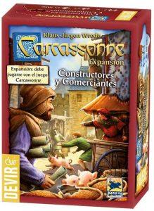 Expansión Carcassonne Constructores y Comerciantes - Juegos de mesa de Carcassonne - Los mejores juegos de mesa de estrategia de Carcassonne
