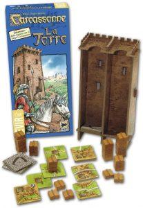 Expansión Carcassonne La Torre - Juegos de mesa de Carcassonne - Los mejores juegos de mesa de estrategia de Carcassonne