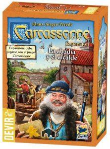 Expansión Carcassonne La abadia y el Alcalde - Juegos de mesa de Carcassonne - Los mejores juegos de mesa de estrategia de Carcassonne