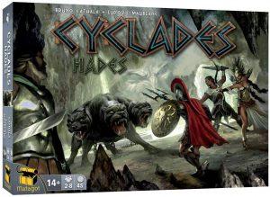 Expansión juego de mesa de Cyclades Hades - Juego de cartas y tablero - Juegos de mesa de expansión de Cyclades - Los mejores juegos de mesa de cartas de Cyclades