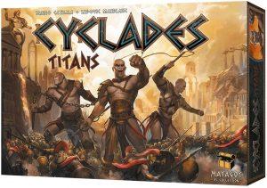 Expansión juego de mesa de Cyclades Titans - Juego de cartas y tablero - Juegos de mesa de expansión de Cyclades - Los mejores juegos de mesa de cartas de Cyclades