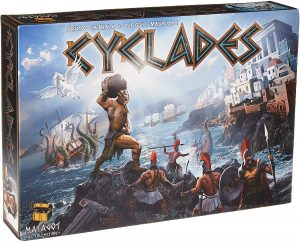 Juego de mesa de Cyclades - Juegos de mesa de cartas y tablero - Los mejores juegos de mesa de Cyclades de mitología