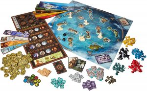 Juego de mesa de Cyclades - Tablero de Cyclades - Los mejores juegos de mesa de Cyclades de mitología
