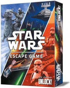 Juego de mesa de Escape de UNLOCK de Star Wars - Juegos de mesa de Unlock - Los mejores juegos de mesa de Escape Room