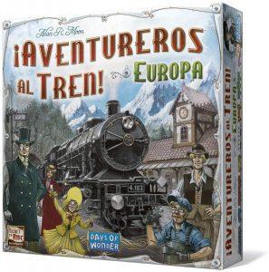 Juegos de mesa de Aventureros al tren Europa de estrategia y tablero