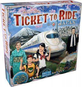 Juegos de mesa de Aventureros al tren Japón de estrategia y tablero
